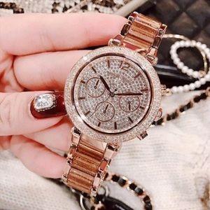 Michael Kora ROSE GOLD Diamond Watch ❤️